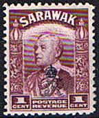 Sarawak 1947 Crown Colony Overprint SG 150 Fine Mint