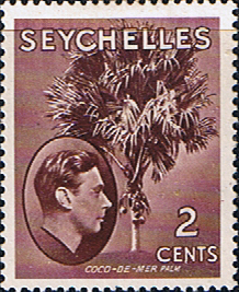 Stamp Stamps Seychelles 1938 King George VI SG 135a Fine Mint Scott 125
