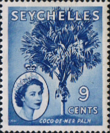 Stamp Stamps Seychelles 1954 Queen Elizabeth II SG 176 Fine Mint Scott 195