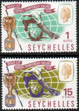 Stamps Stamp Seychelles 1966 Football World Cup Set Fine Mint