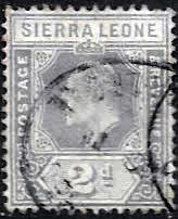African Stamps Sierra Leone 1907 King Edward VII SG 100a Fine Used Scott 91