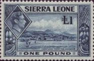 Sierra Leone King George VI