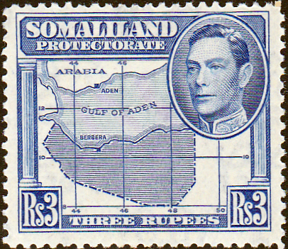 Somaliland Protectorate 1938 King George VI SG 103 Fine Mint