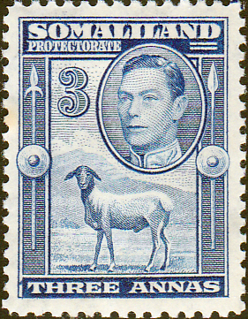 Somaliland Protectorate 1938 King George VI SG 96 Fine Mint