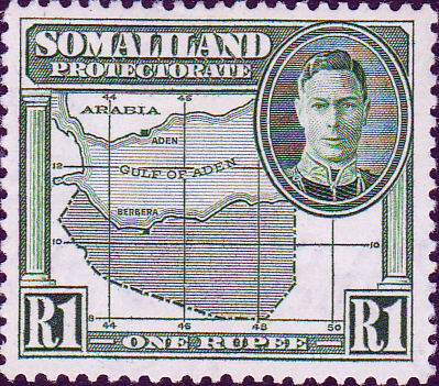 Somaliland Protectorate 1942 King George VI SG 113 Fine Mint