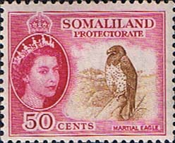 Post stamp Somaliland Protectorate 1953 Queen Elizabeth SG 143 Fine Mint Scott 134