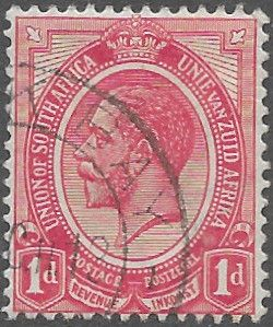 South Africa 1913 George V SG  4 Fine Used