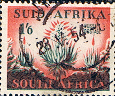 Stamps of South Africa 1953 Hendriksz Set Fine Used