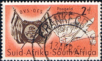 South Africa 1954 Orange Free State SG 149 Fine Used