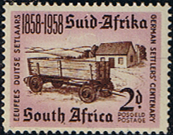 South Africa 1958 German Settlers Fine Mint