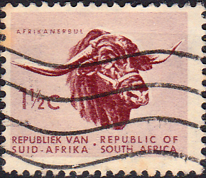 South Africa 1961 First Republick SG 200 Fine Used
