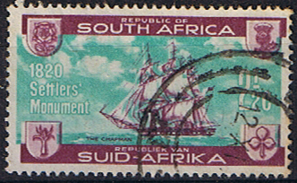 South Africa 1962 British Settlers Monument SG 222 Fine Used