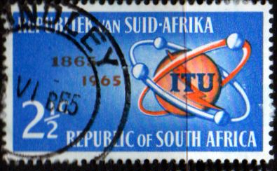 South Africa 1965 l.T.U. Centenary SG 258 Fine Used