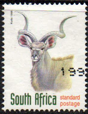 South Africa 1998 Endangered Species Antelopes SG 1076 Fine Used