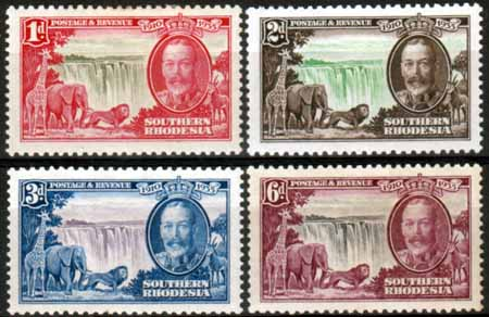 Southern Rhodesia 1935 King George V Silver Jubilee