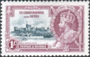 St Christopher and Nevis 1935 King George V Silver Jubilee SG 64 Fine Mint
