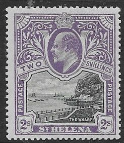 St Helena 1903 The Wharf  SG 60 Fine Mint