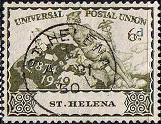 St Helena Stamps 1949 Universal Postal Union