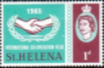 St Helena 1965 International Co-operation Year SG 197 Fine Mint