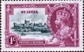 St Lucia 1935 King George V Silver Jubilee SG 112 Fine Mint
