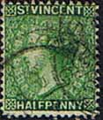 St Vincent 1885 Queen Victoria SG 47 Fine Used