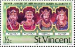 St Vincent 1977 Silver Jubilee SG 502 Kings Fine Mint