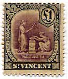 St Vincent Early Issues 1863 - 1951