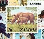 Stamps of Zambia
