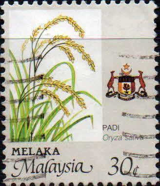 State of Malacca 1986 Agricultur SG 101 Fine Used