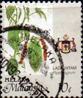 State of Malacca 1986 Agricultur SG 98 Fine Used