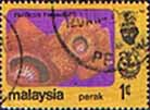 State of Perak 1979 Flowers SG 184 Fine Used
