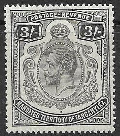 African Stamps Tanganyika 1927 King George V SG 103 Fine Used Scott 40