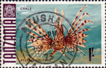 Stamps Tanzania 1967 Fish Fine Used SG 151 Scott 28
