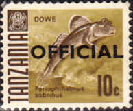 Tanzania 1967 Fish SG O21 Official Fine Used