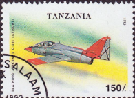 Tanzania 1993 Military Aircraft SG 1678 Fine Used