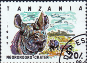 Tanzania 1993 National Parks SG 1689 Fine Used