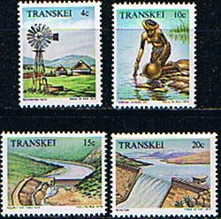 Transkei 1979 Water Resources Set Fine Mint