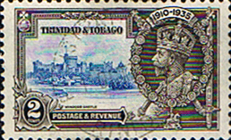 Stamps Stamp Trinidad and Tobago 1935 Silver Jubilee SG 239 Fine Used Scott 43