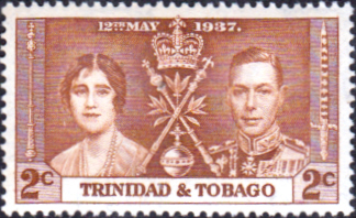 Trinidad and Tobago 1937 SG 244 King George Coronation Fine Mint