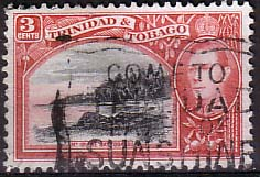 Stamp Stamps Trinidad and Tobago 1938 SG 248 Mount Irvin Bay Fine Used SG 248 Scott 52
