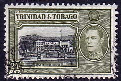 Trinidad and Tobago 1938 SG 253 Government House Fine Used