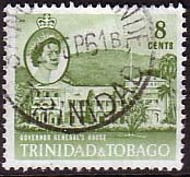 Trinidad and Tobago 1960 SG 288 Governor General's House Fine Used