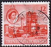 Trinidad and Tobago 1960 SG 290 Oil Refinery Fine Used