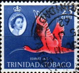 Trinidad and Tobago 1960 SG 292 Bird Scarlet Ibis Fine Used