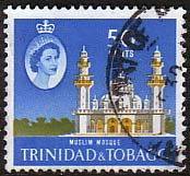 Trinidad and Tobago 1960 SG 294 Mohammed Jinnah Mosque Fine Used