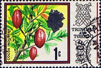 Trinidad and Tobago Stamps 1969 SG 339 Cocoa Beans