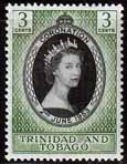 Trinidad and Tobago Queen Elizabeth II 1953 Coronation Fine Mint