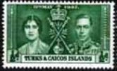 Turks and Caicos Islands 1937 King George VI Coronation SG 191 Fine Mint