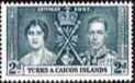 Turks and Caicos Islands 1937 King George VI Coronation SG 192 Fine Mint