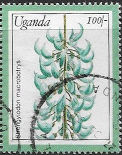 Uganda Stamps 1988 Flowers Set